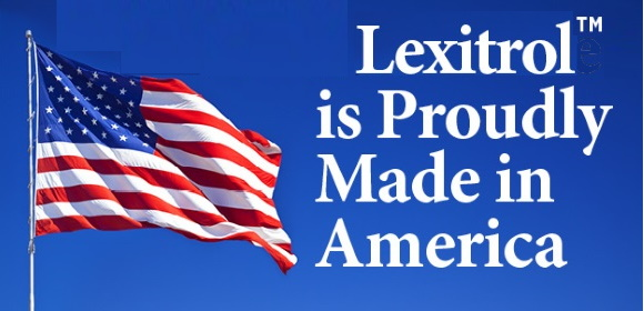 [Lexitrol is Proudly Made in America]